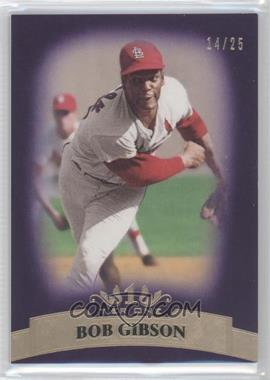 2011 Topps Tier One Purple Tier Two #45 - Bob Gibson /25