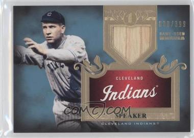 2011 Topps Tier One Top Shelf Relics Single Relics #TSR 15 - Tris Speaker /399