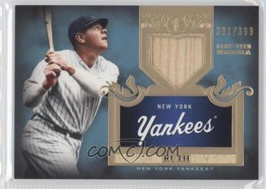 2011 Topps Tier One Top Shelf Relics Single Relics #TSR 16 - Babe Ruth /399