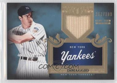 2011 Topps Tier One Top Shelf Relics Single Relics #TSR 5 - Joe DiMaggio /399