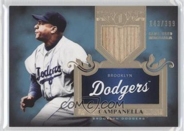 2011 Topps Tier One Top Shelf Relics Single Relics #TSR 9 - Roy Campanella /399