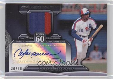 2011 Topps Topps 60 Autographed Relics [Autographed] #T60AR-AD - Andre Dawson /50