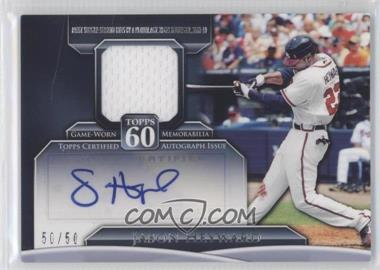 2011 Topps Topps 60 Autographed Relics [Autographed] #T60AR-JH - Jason Heyward /50