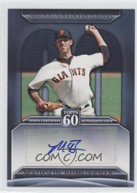 2011 Topps Topps 60 Autographs [Autographed] #T60A-MB - Madison Bumgarner