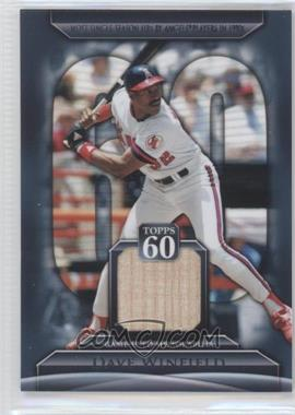 2011 Topps Topps 60 Relics [Memorabilia] #T60R-DW - Dave Winfield