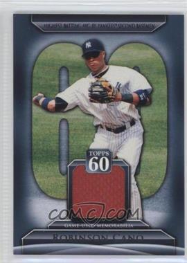 2011 Topps Topps 60 Relics [Memorabilia] #T60R-RCA - Robinson Cano