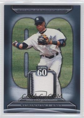 2011 Topps Topps 60 Relics [Memorabilia] #T60R-RCA.1 - Robinson Cano (Fielding)