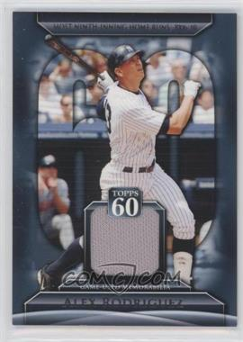 2011 Topps Topps 60 Relics #T60R-ARO - Alex Rodriguez