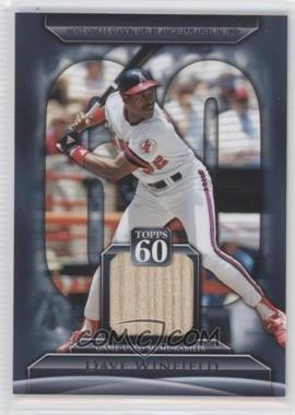 2011 Topps Topps 60 Relics #T60R-DW - Dave Winfield