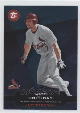 2011 Topps Topps Town Series 2 #TT2-23 - Matt Holliday