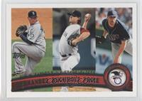 Felix Hernandez, Clay Buchholz, David Price /1