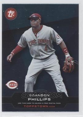 2011 Topps ToppsTown Series 2 #TT2-18 - Brandon Phillips