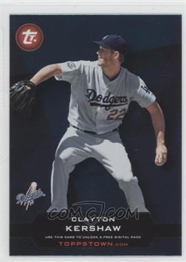 2011 Topps ToppsTown Series 2 #TT2-20 - Clayton Kershaw