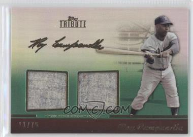 2011 Topps Tribute Dual Relic Green #TDR-RC  - Roy Campanella /75