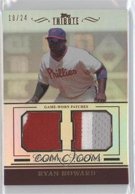 2011 Topps Tribute Pastime Patches #PP-RH - Ryan Howard /24
