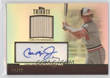 2011 Topps Tribute Relic Certified Autograph [Autographed] #TAR-CR - Cal Ripken Jr. /99