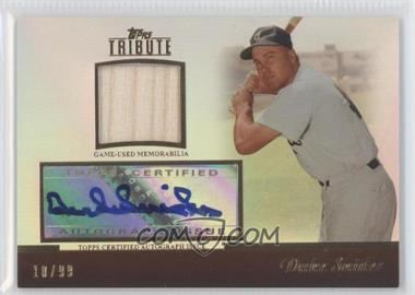 2011 Topps Tribute Relic Certified Autograph [Autographed] #TAR-DS2 - Duke Snider /99