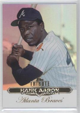 2011 Topps Tribute #100 - Hank Aaron