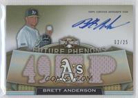 Rookies & Future Phenoms - Brett Anderson /25