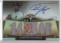Rookies & Future Phenoms - Austin Jackson /75