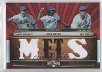 David Wright, Jose Reyes, Ike Davis /36