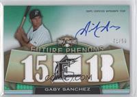 Gaby Sanchez /50