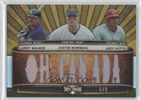 Larry Walker, Justin Morneau, Joey Votto /5