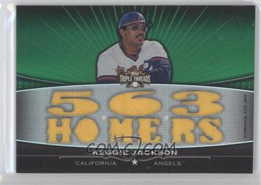 2011 Topps Triple Threads [???] #TTFR-15 - Reggie Jackson /18