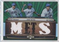 David Wright, Jose Reyes, Ike Davis