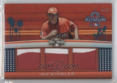 2011 Topps Triple Threads All-Star Game Patch Relics #TTASP-46 - Ian Kinsler /9