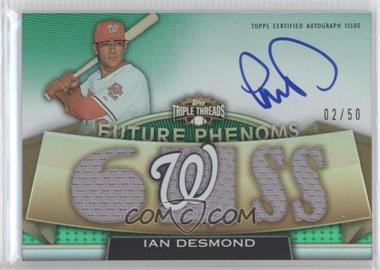 2011 Topps Triple Threads Emerald #144 - Ian Desmond /50