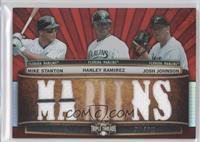 Mike Stanton, Hanley Ramirez, Josh Johnson /36