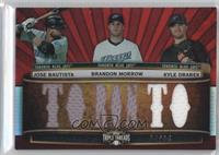 Jose Bautista, Brandon Morrow, Kyle Drabek /36