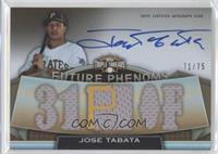 Jose Tabata /75