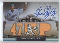 Gio Gonzalez /75