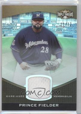 2011 Topps Triple Threads Unity Relics Sepia #TTUSR-60 - Prince Fielder /27
