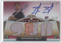 Rookies & Future Phenoms - Brandon Belt /99
