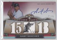 Rookies & Future Phenoms - Gaby Sanchez /99