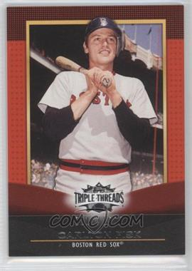 2011 Topps Triple Threads #43 - Carlton Fisk /1500