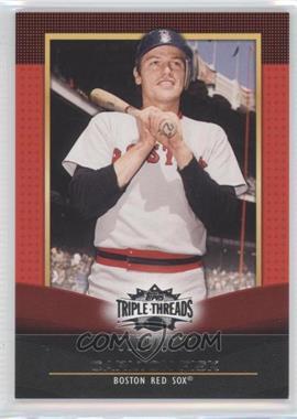 2011 Topps Triple Threads #43 - Carlton Fisk /1500