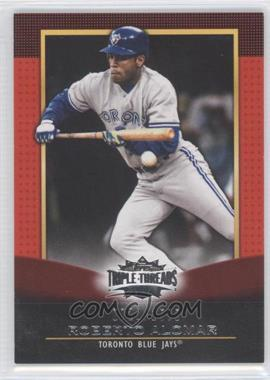 2011 Topps Triple Threads #74 - Roberto Alomar