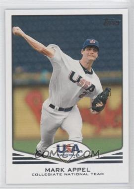 2011 Topps USA Baseball Team - [Base] #USA-1 - Mark Appel
