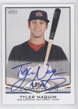2011 Topps USA Baseball Team Autographs #USA-A17 - Tyler Naquin