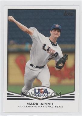 2011 Topps USA Baseball Team Factory Set [Base] #USA-1 - Mark Appel