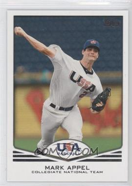 2011 Topps USA Baseball Team Factory Set [Base] #USA-1 - Mark Appel