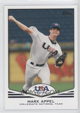2011 Topps USA Baseball Team #USA-1 - Mark Appel