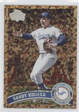 2011 Topps Update Series - [Base] - Cognac Diamond Anniversary #US140.2 - Sandy Koufax (Legends)