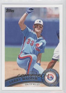 2011 Topps Update Series - [Base] #US195.2 - Larry Walker (Legends)