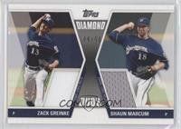 Zack Greinke, Shaun Marcum /50