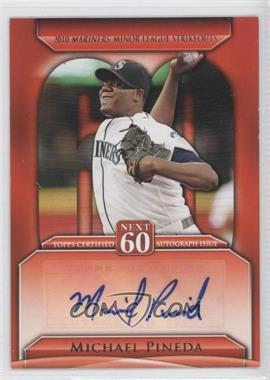 2011 Topps Update Series - Next 60 Certified Autographs - [Autographed] #N60A-MP - Michael Pineda